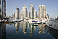 UAE, Dubai, view to skyscrapers at Dubai Marina - PCF000023