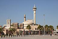 UAE, Dubai, Al Bastakiya district with Bastakiya Mosque - PCF000038