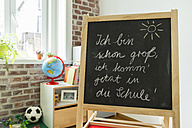 Blackboard in children's room - MFF001416