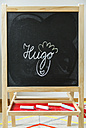 Blackboard in children's room - MFF001419