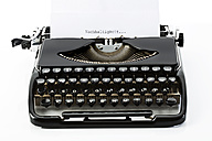 Old black typewriter - MAEF009491