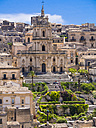Italy, Sicily, Province of Ragusa, View to Modica, Church San Giorgio - AM003680