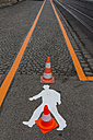 Austria, road marking - EJWF000661