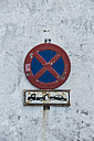 Spain, Andalusia, Tarifa, stopping restriction - KBF000307