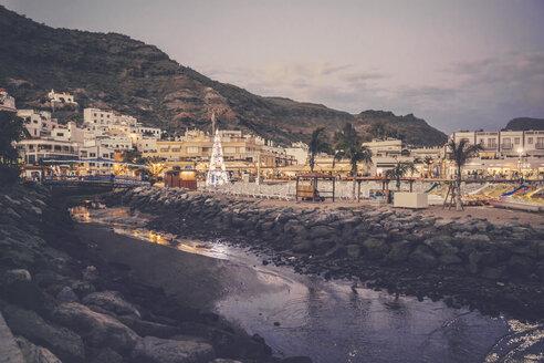Spain, Canary Islands, Gran Canaria, Puerto de Mogan - MFF001450