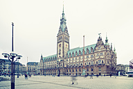 Germany, Hamburg, view to town hall - SE000892