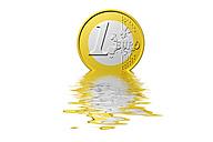 Dissolving Euro coin - AMF003724