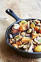 Stir-fried winter vegetables in a cast iron pan - HAWF000601