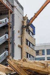 Austria, Linz, demolition of an office building - EJWF000665