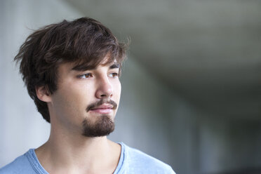 Portrait of young man with brown eyes and hair - WWF003722
