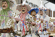 Germany, Bavaria, Mittenwald, traditional carnival procession - LB001029