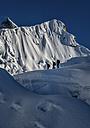 Nepal, Khumbu, Everest region, mountaineers on Island peak - ALRF000020