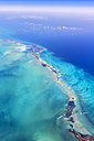 USA, Florida, aerial view of the Florida Keys - THAF001227