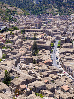 Italy, Sicily, Modica, view to the city from above - AMF003761