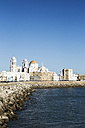 Spain, Andalusia, Cadiz, cathedral by the sea - KBF000322