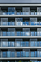 Germany, Munich, part of facade of an office building - TC004546