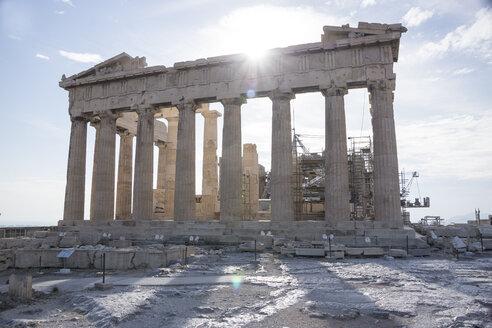 Greece, Athens, view to acropolis - CHPF000051