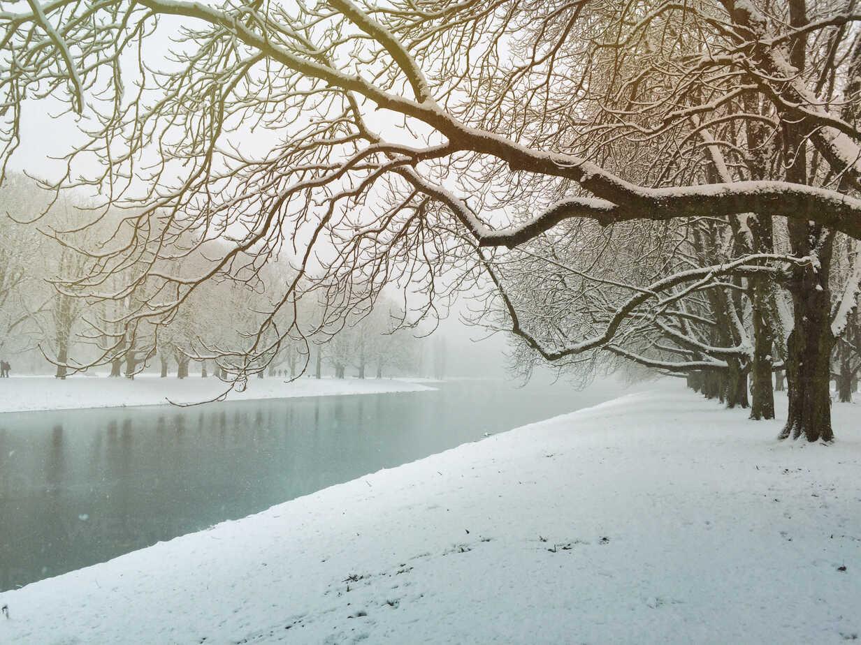 Germany, Cologne, winter at Decksteiner Weiher - GWF003771 - Gaby Wojciech/Westend61