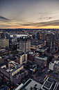 Canada, Vancouver, Cityscape from Harbour Centre in the evening - NGF000231