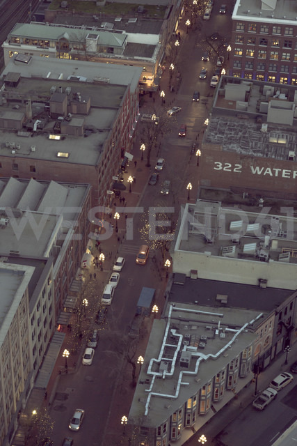 Canada, Gastown, Vancouver, Cityview from Harbour Centre - NGF000238 - Nadine Ginzel/Westend61