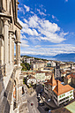 Switzerland, Lausanne, cityscape from cathedral Notre-Dame - WD002889