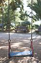 Greece, old swing at playground - DEGF000190