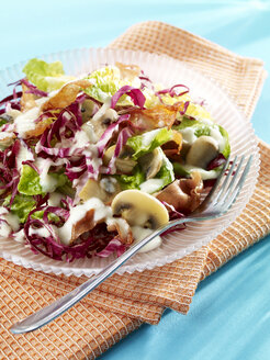 Romaine lettuce with pear dressing - SRS000558