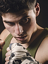 Portrait of a young boxer - RAEF000040