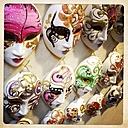 Italy, Venice, carnival masks - JUN000211