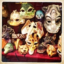 Italy, Venice, carnival masks - JUN000212