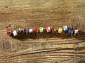 Row of reels on wood - SRSF000579