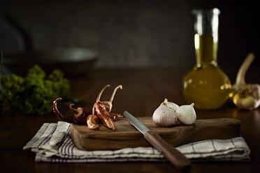 Ingredients of Aglio Olio e peperoncini - DIKF000130