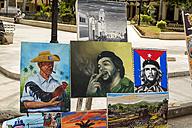 Cuba, Havana, Paseo del Prado, artwork for sale - EJW000683