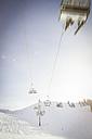 Austria, Salzburg State, Region Hochkoenig in winter, Ski Amade, ski lift - DISF001414
