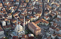 Turkey, Istanbul, view over Levent from the Sapphire of Istanbul - LHF000430