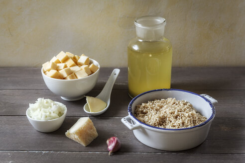 Ingredients of swede risotto - EVGF001280