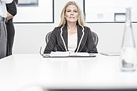 Businesswoman in meeting room - ZEF004527
