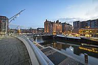 Germany, Hamburg, Hafencity in the morning - RJF000412