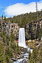 USA, Oregon, Deschutes County, Tumalo Creek, Tumalo Falls - FOF007854