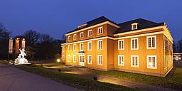 Germany, Ruhr area, Oberhausen, Schloss Oberhausen, Ludwiggalerie, museum - WI001578