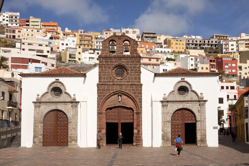 Spain Canary Islands, La Gomera, San Sebastian de La Gomera, Church Iglesia de La Asuncion - PCF000093