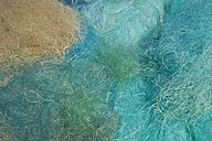 Portugal, Algarve, Sagres, fishing nets in water - MRF001572