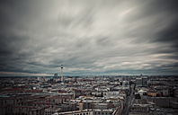Germany, Berlin, city view with television tower from Potsdam Square - ASCF000069