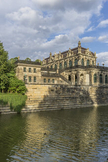 Germany, Dresden, Zwinger palace at sunlight - PVCF000331