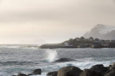 Norway, Lofoten, coast by Tind - MKFF000183