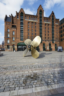 Germany, Hamburg, Propeller at the International Maritime Museum - STE000132