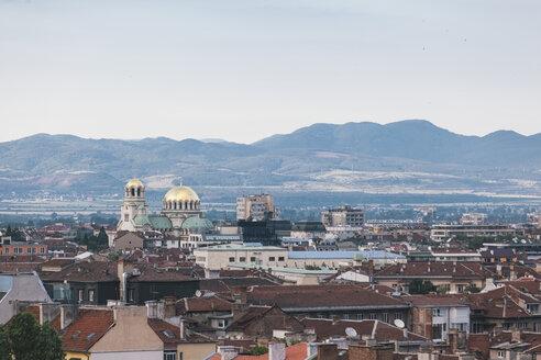 Bulgaria, Sofia, View to Alexander Nevsky Cathedral - BZ000077