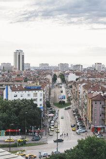 Bulgaria, Sofia, Cityview, View to Boulevard Gen. Skobelev - BZ000079