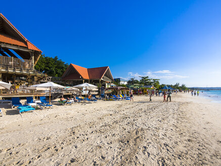 Jamaica, Westmoreland, Beach of Negril, Party mile and dream beach - AMF003932