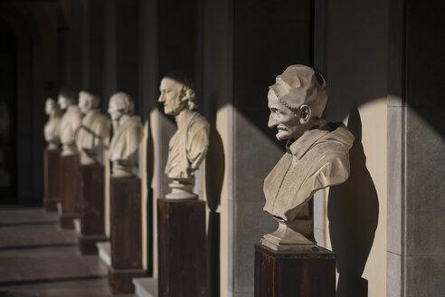 Italy, Milan, sculpures in Pinacoteca Ambrosiana - HAM000004